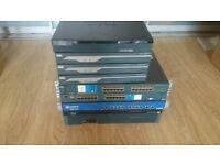 Job lot 7 Cisco and Juniper kit