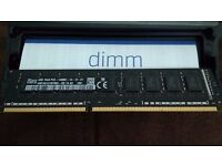 KINSTON HYNIX APPLE 12GB RAM PC3-14900 NEW 3 X 4GB OF RAM, MEMORY