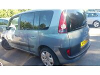 7 SEATER AUTOMATIC ESPACE,2.2 DIESEL,FULL S HISTRY,BRILLIANT RUNNER,PERFECT FAMILY CAR,PX NEGOTIABLE