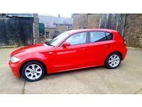 2006 BMW 118D DIESEL RED 4 DOOR HATCHBACK