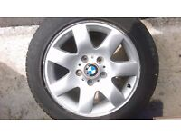 "BMW 16"" alloy wheel only"