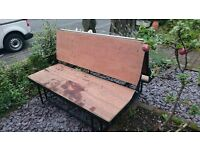 Full width rock and roll bed/seat