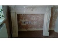 Marble Fire Surround in excellent condition