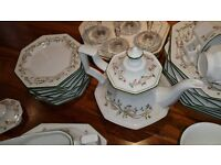 Large quantity Eternal Beau dinner service, boxed ready to go