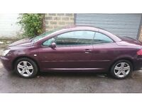 Peugeot 307 CC RARE! Comes with Built in Sat Nav & Phone
