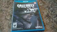 Euc Wii U Call of duty Ghosts game