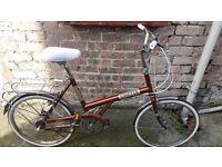 "BSA shopper 20"" retro bicycle - excellent condition bike"