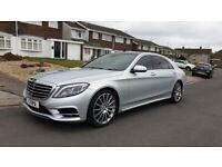 2014 MERCEDES S400 L AMG LINE EXECUTIVE,HYBRID,2 OWNERS, 12 MONTHS MOT,2 KEYS,VGC