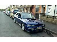 Subaru impreza wagon UK 2000 turbo wrx