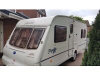 Wanted - Touring Caravan with Fixed Double Bed