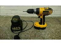 Dewalt drill driver and 2 x batteries