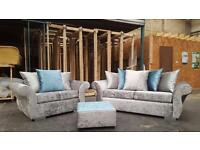 BRAND NEW DQF Crush 3-2 Sofa. ONLY £499