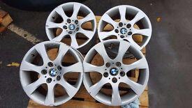original BMW alloys wheels R17