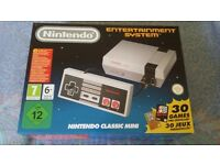 NIntendo mini classic BRAND NEW AND BOXED