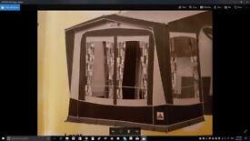 Dorema large porch awning - Omega XL/ used for oly 1 season - BARGAIN