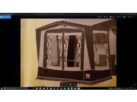 Dorema large porch awning - Omega XL/ Bought 2015 and hardly used - BARGAIN