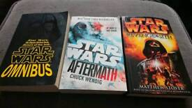 3 Starwars novel books
