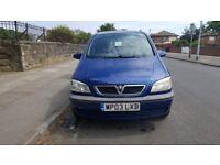 Vauxhall Zafira 1.6 2003