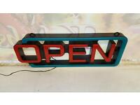 LCD Opening Sign