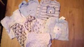 0-3month long sleve full baby grows all excellent clean condition.