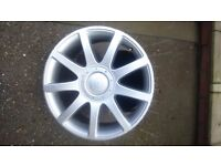 Vw golf rs4 style alloy wheel 18 inch 5 stud multi fit.