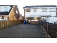 3 bed semi for rent