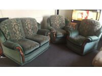 Sofa with armchairs