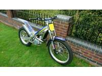 Sherco 290cc trials bike excellent condition new tyres