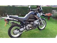 For sale immaculate 1998 BMW R1100 GS, only 35000 miles.