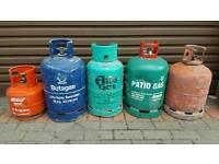 Gas bottles patio / bbq propane etc etc job lot