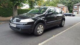 Renault Megane 1.6l 5 door black