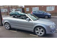 Audi A4 Convertible S-Line TDI 2.0 Ltr 2006 In Excellent Condition