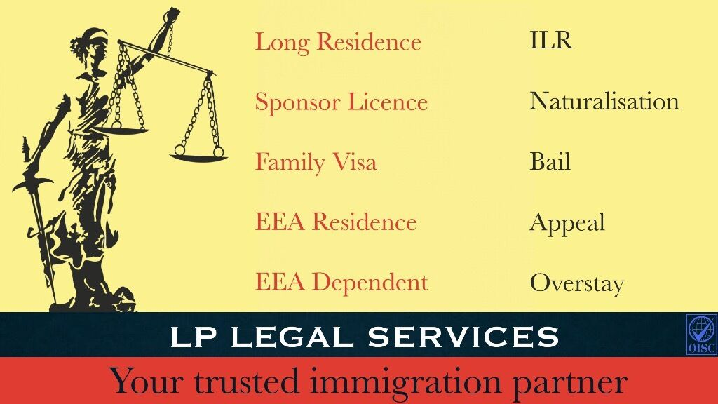 Immigration Specialist - Same Day Appointment. Home Office