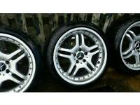 Alloys Mercedes 5x112 225 40 18
