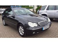 Mercedes C200 Kompressor Elegance 4 Door 2002 Automatic