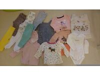 6-9 months baby girl clothes bundle excellent condition - southampton