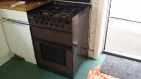 NEW WORLD free standing gas cooker