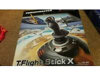 Thrustmaster flight stick for ps3 and PC