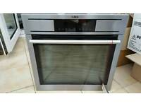 AEG intergrated pyrolytic oven