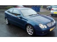 2005 55 plate mercedes c220 cdi sport coupe