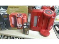 red mint condition prep machine