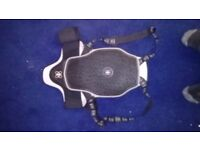 Force field motorcycle back protector