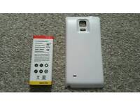 Samsung galaxy note 4 extended 8200mAh battery and cover
