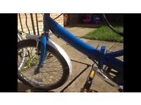 Folding genuine Raleigh bike