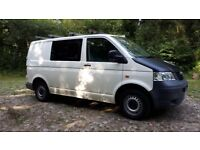 VW T5 Transporter, Good condition 12months MOT service history