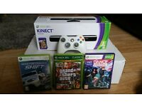 20Gb xbox 360 white with kinect