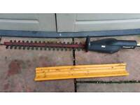 Hi for sale hedge trimmer attachment in good condition fully working can deliver or post!