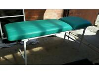 Foldaway therapy bed