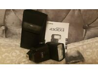 Canon SPEEDLITE 430EX II flash ; new