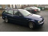 BMW E46 320D Touring Facelift 04 Plate 3 Series